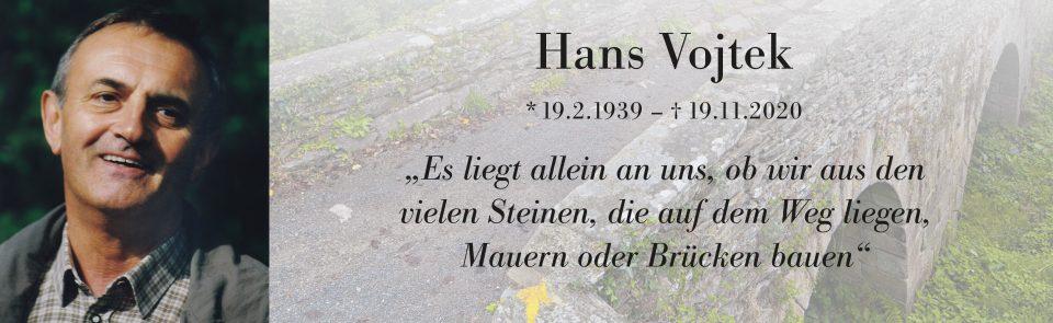 Abschied von Hans!